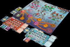 Jeudice - Zman Games - Cryo - Jeu de société - Plateau - Placement Ouvrier - Moteur - J2S - JDS