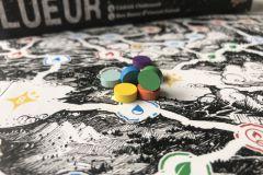Jeudice - Bombyx - Lueur - Dés - Draft - Cartes
