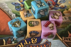 Jeudice - Huch - Atalia - Rajas of The Ganges - The Dice Charmers - Roll and Write