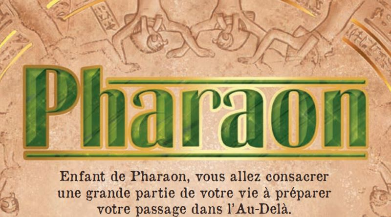 Jeudice - Catch Up Games - Pharaons