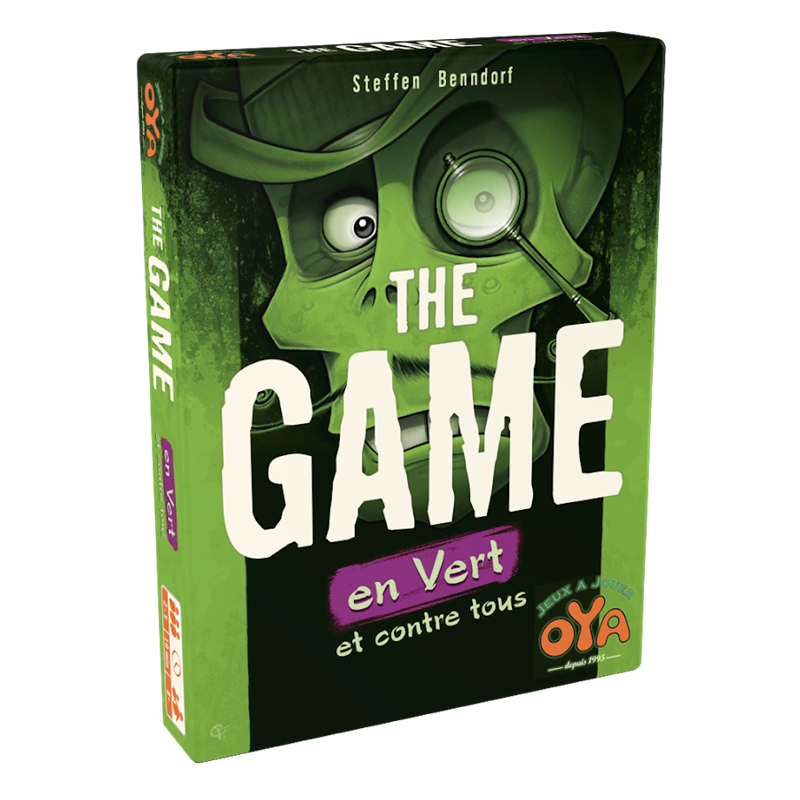 jeudice - The Game Quick and Easy - En Vert et Contre Tous - carte