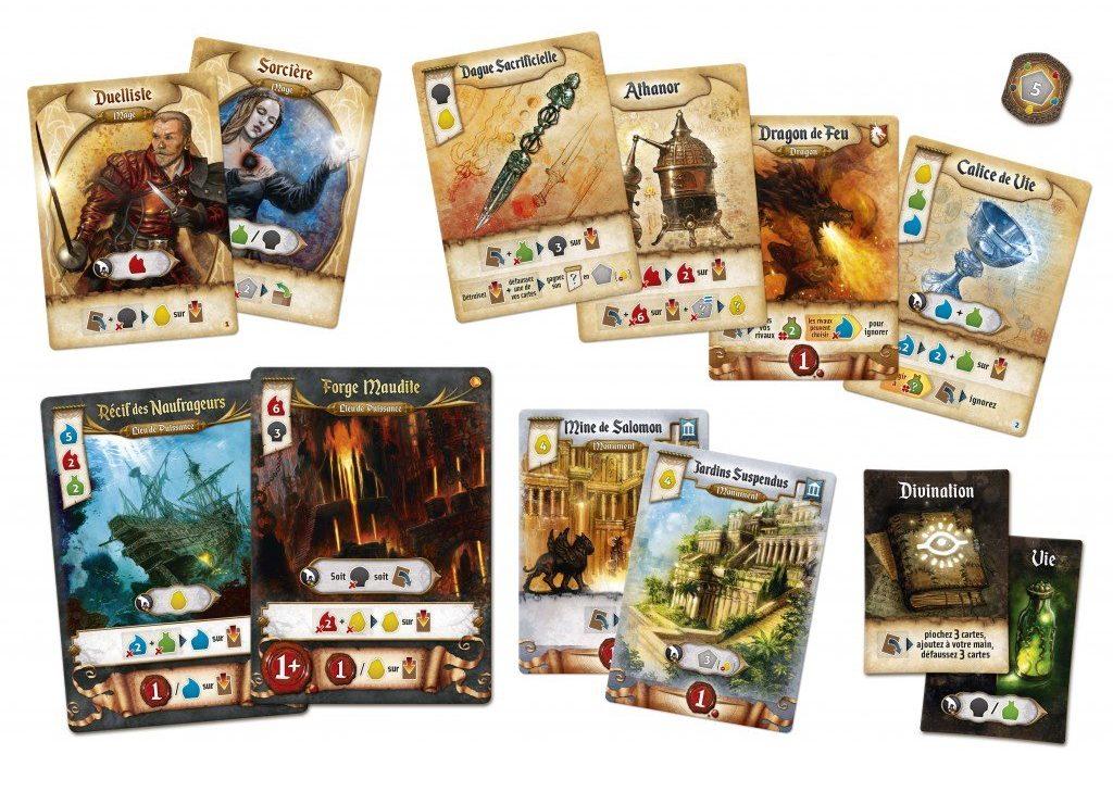Jeudice - Sand Castle Games - Res Arcana - Cartes