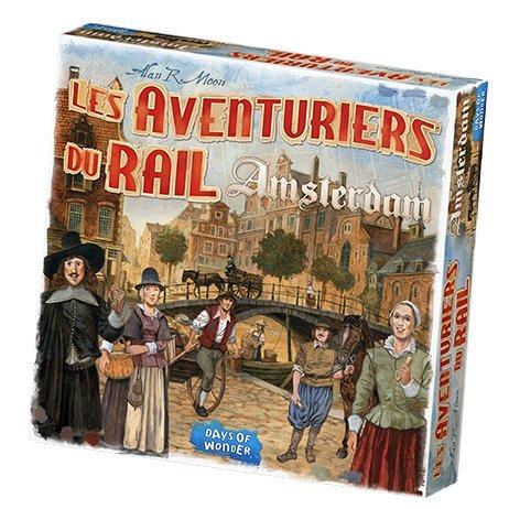 Jeudice - Day of Wonder - Les aventuriers du Rail Amsterdam