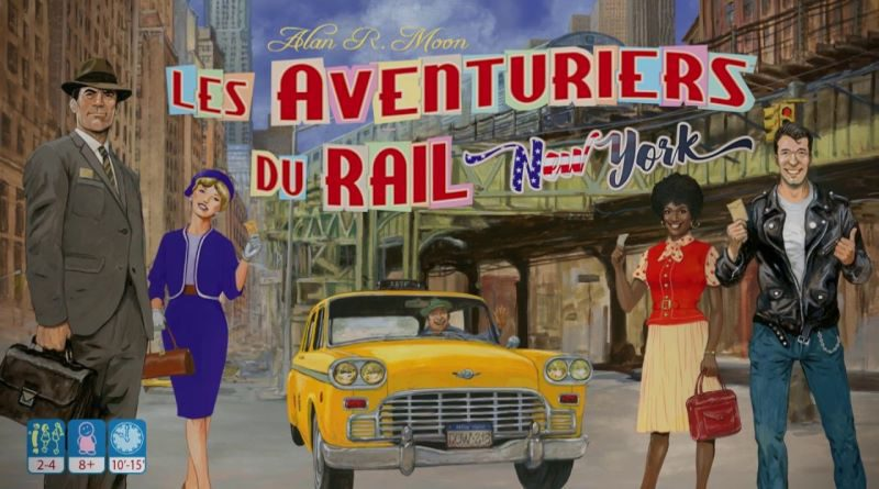 Jeudice - Day of Wonder - Les aventuriers du Rail New York