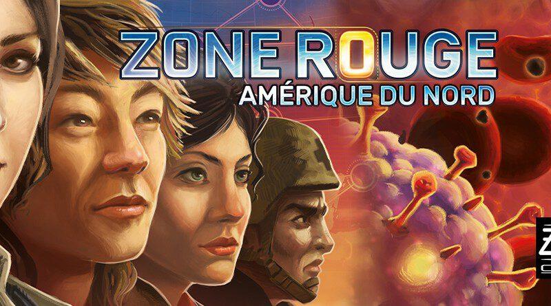 Jeudice - Edge - ZMan - Pandemic Zone Rouge Amerique du Nord