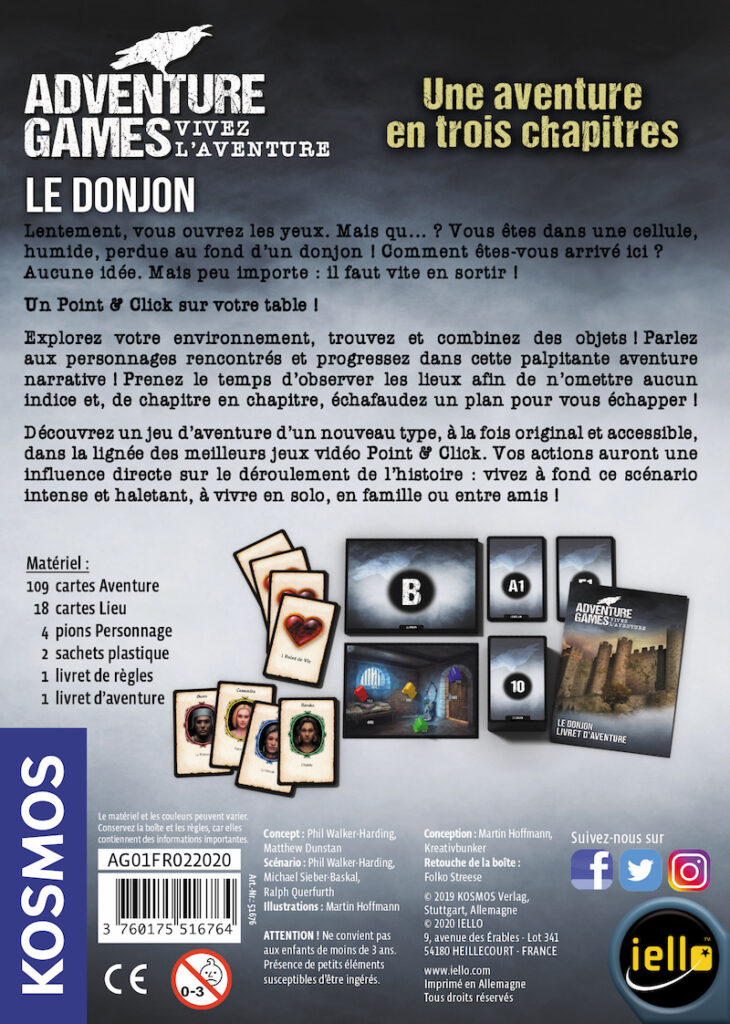 Jeudice - Iello - Adventure Games Le Donjon