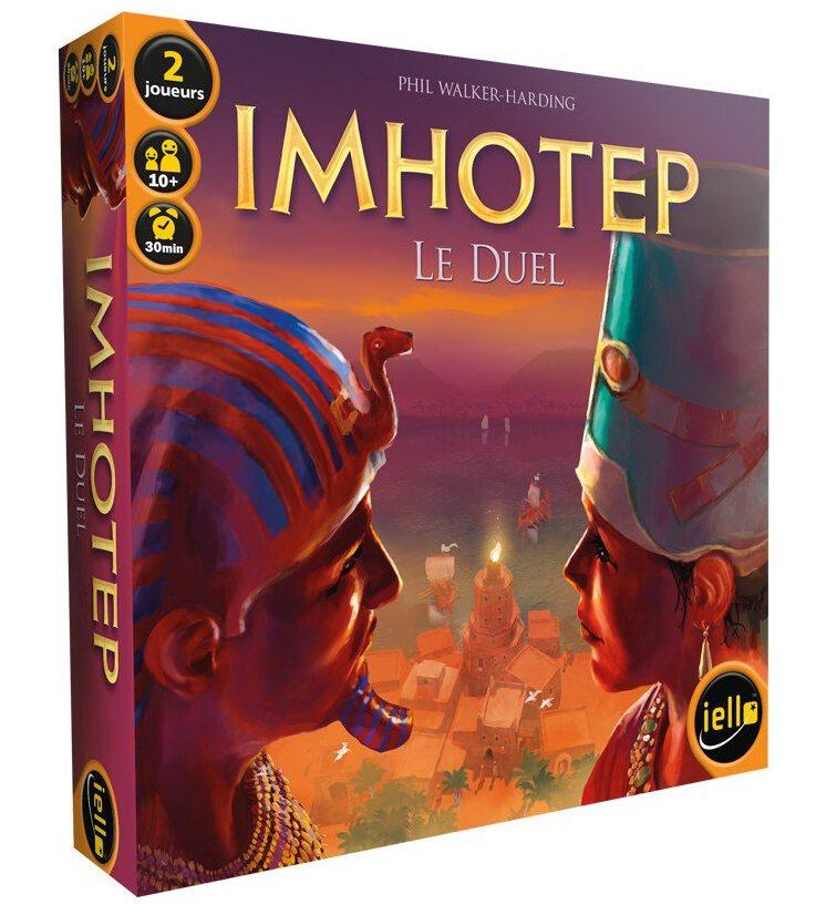 Jeudice - Iello - Imhotep le Duel