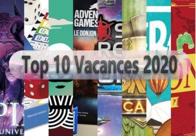 Jeudice - Top 10 Vacances 2020