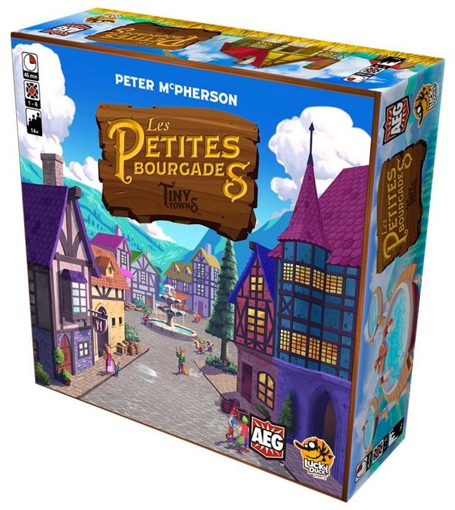 Jeudice - Lucky Duck Games - AEG - Les Petites Bourgades