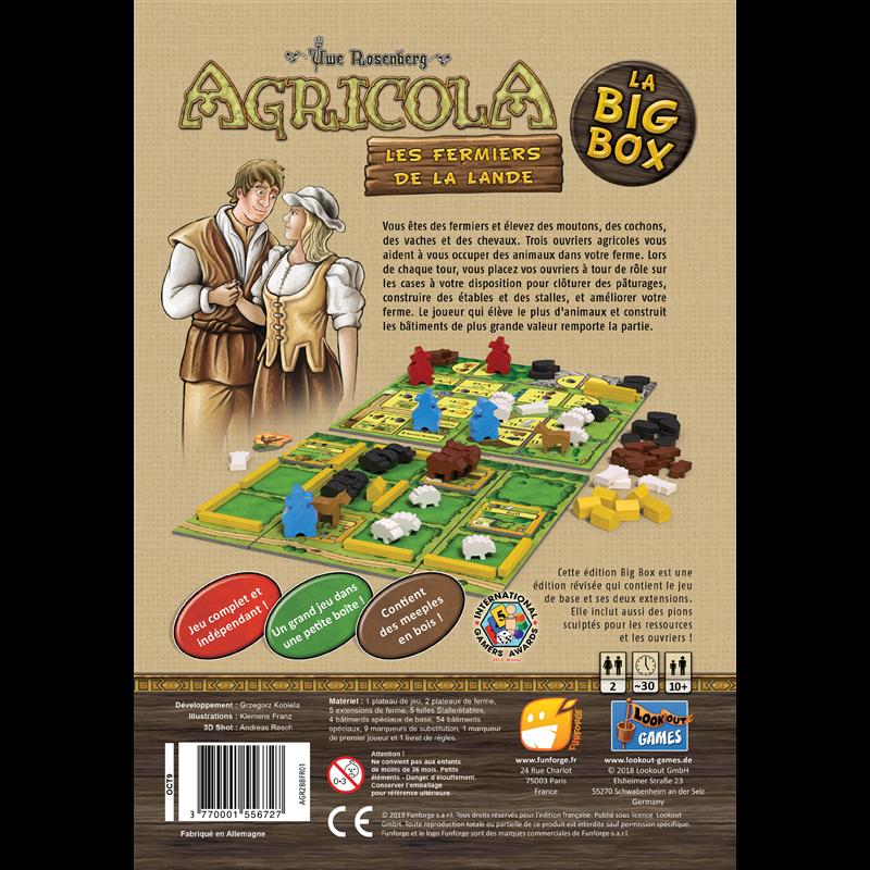 Jeudice - Funforge - Agricola Big Box Les Fermiers de la Lande
