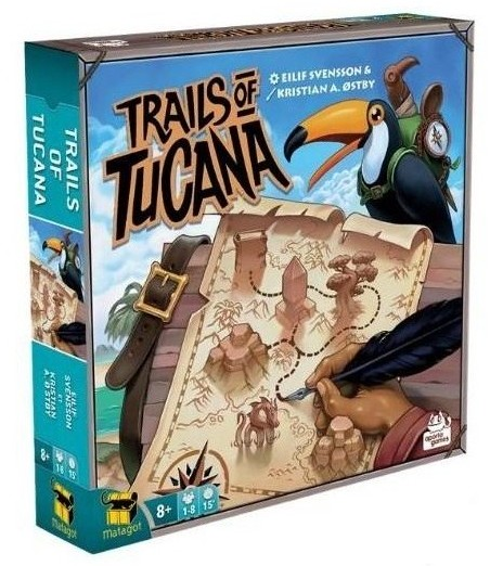 Jeudice - Aporta Games - Matagot - Trails of Tucana