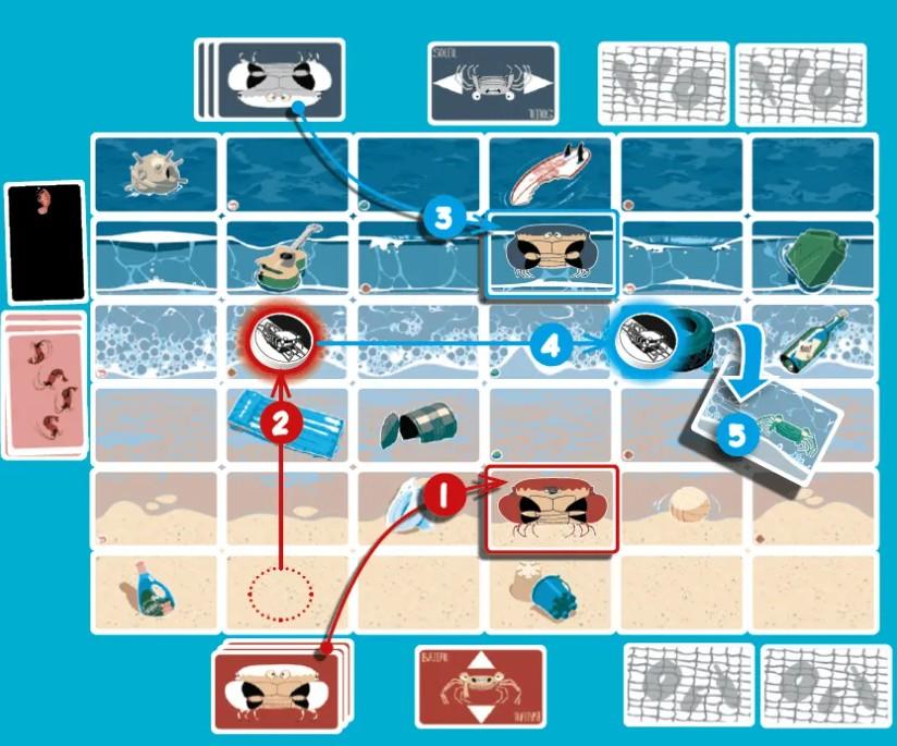 Jeudice - Jeux Opla - La Marche du Crabe