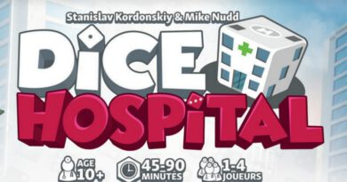 Jeudice - Alley Cat Games - Super Meeple - Dice Hospital