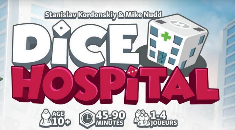 Jeudice - Alley Cat Games - Super Meeple - Dice Hospital