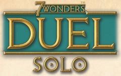 Jeudice - 7 Wonders Duel - Variantes Solo