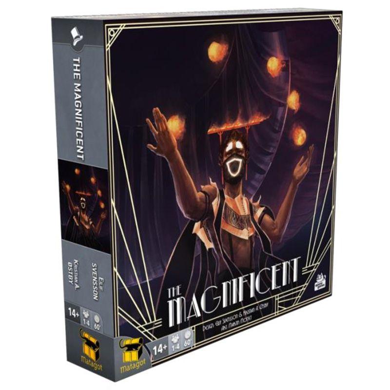 Jeudice - Matagot - Aporta Games - The Magnificent