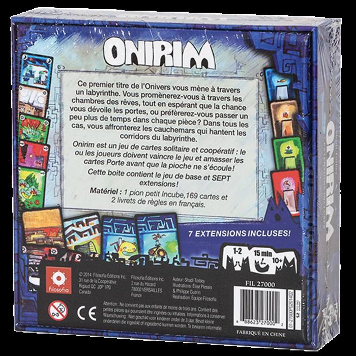 Jeudice - Zman Games - Onirim