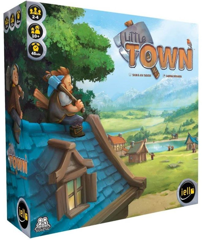 Jeudice - Iello - Studio GG - Little Town