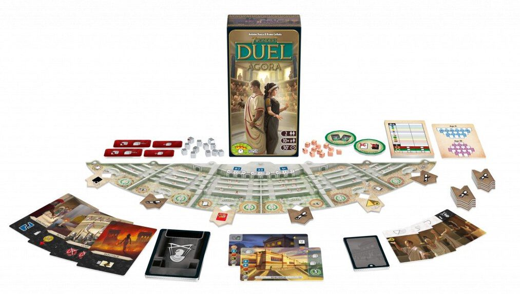 Jeudice - Repose Production - 7 Wonders Duel Agora