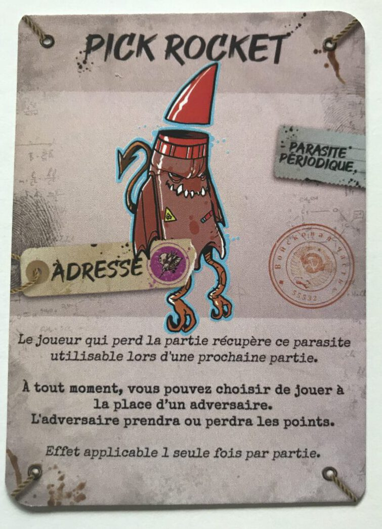 Jeudice - Chevre edition - Parasite Game