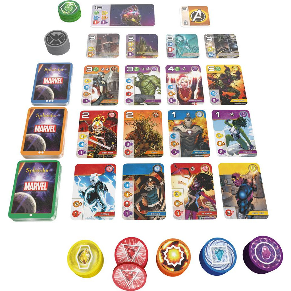 Jeudice - Space Cowboys - Splendor Marvel