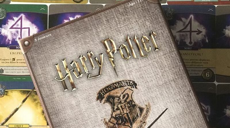 jeudice - Usaopoly - Harry Potter bataille à Poudlard - Defense contre les forces du mal