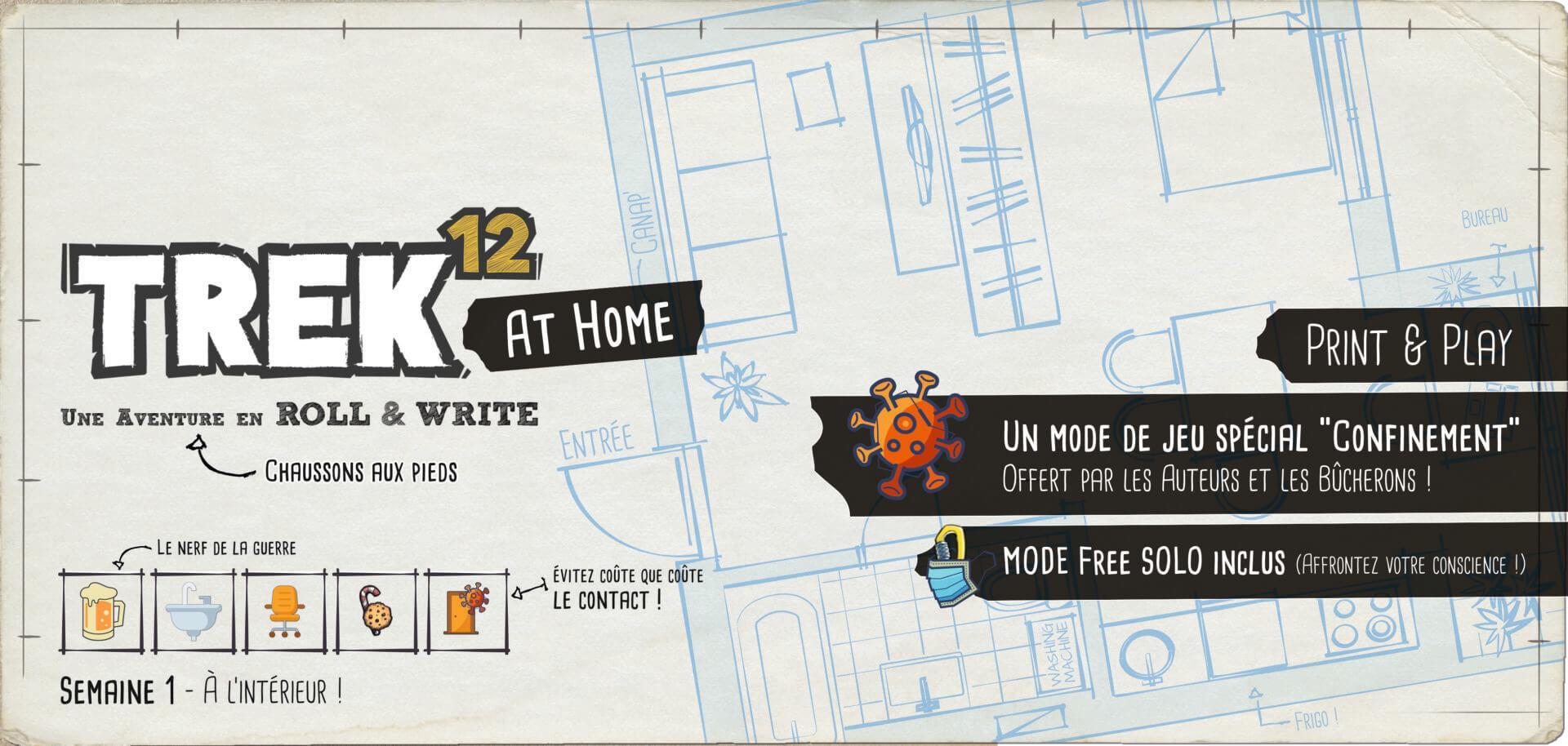 Jeudice - Lumberjacks - Trek 12 at home