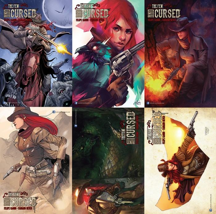 Jeudice - Comics - The Few and Cursed