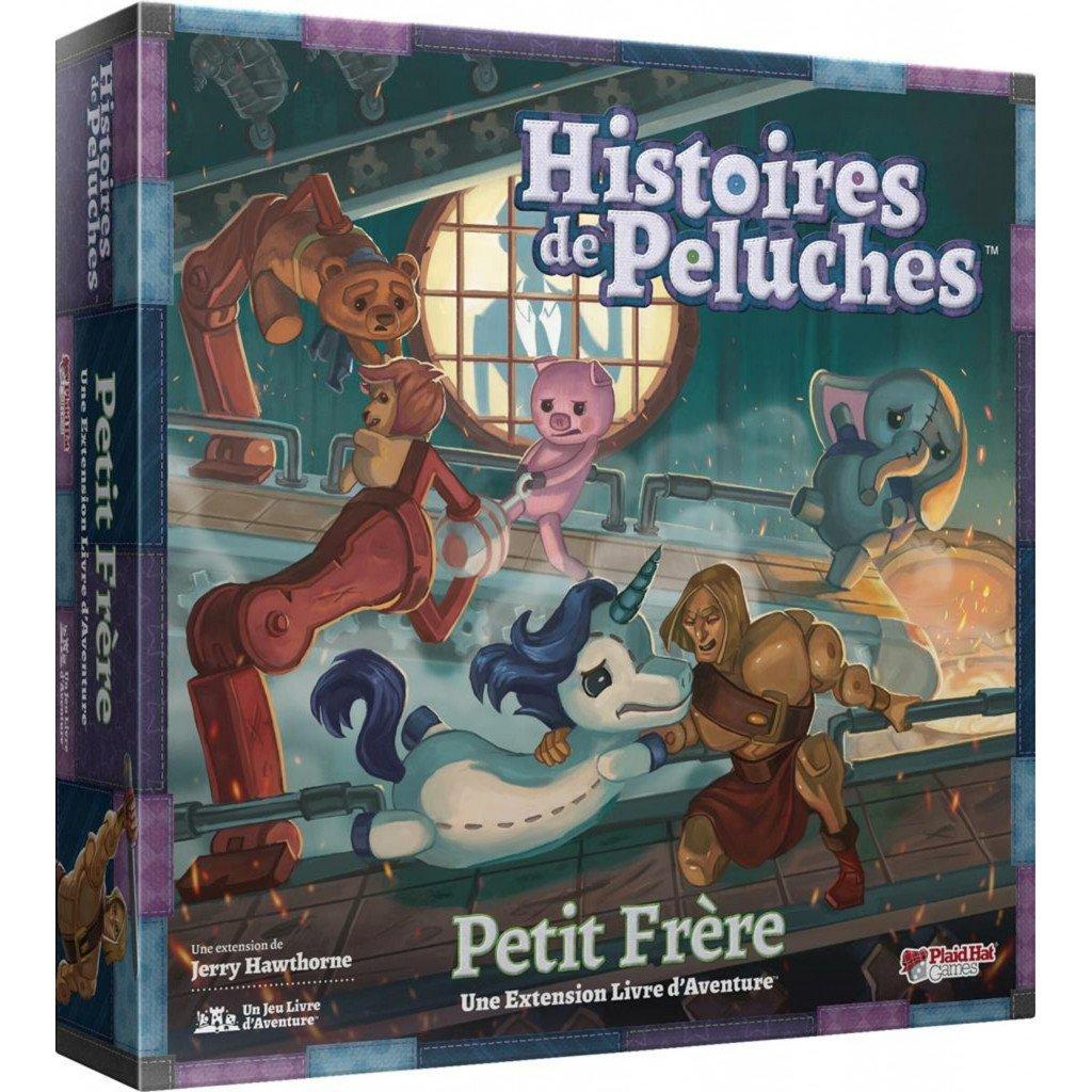 Jeudice - Plaid Hat Games - Histoires de Peluches - Extension Petit Frère