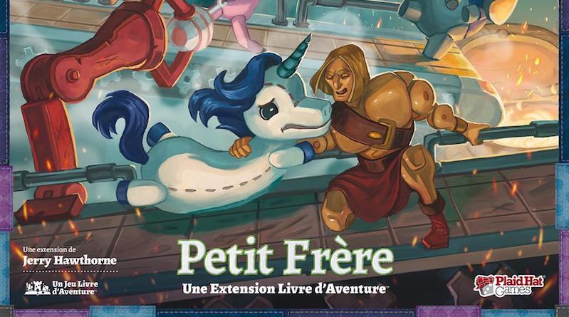 Jeudice - Plaid Hat Games - Histoires de peluches - Extention Petit Frère