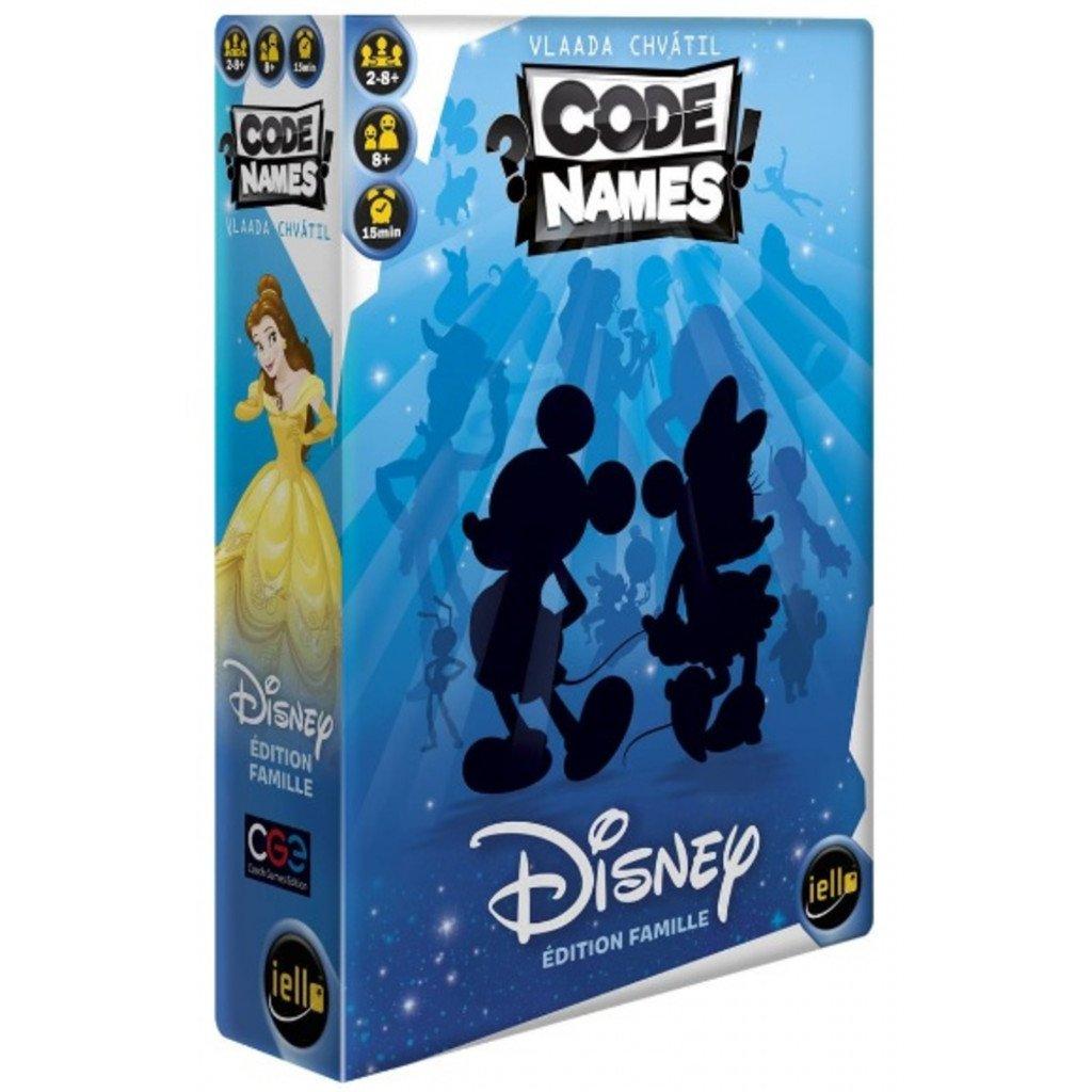Jeudice - USAOPOLY - Iello - Codenames Disney