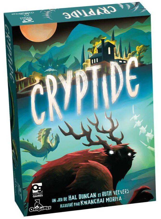 Jeudice - Osprey Games - Origames - (Express) 👉 Cryptide