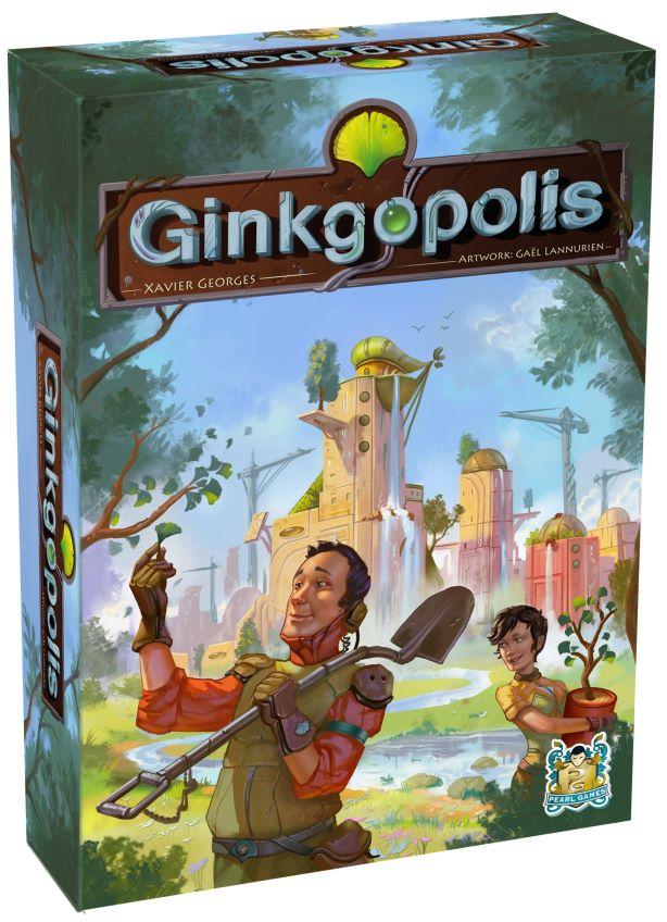 Jeudice - Peral Games - Funforge - (Express) 👉 Ginkgopolis