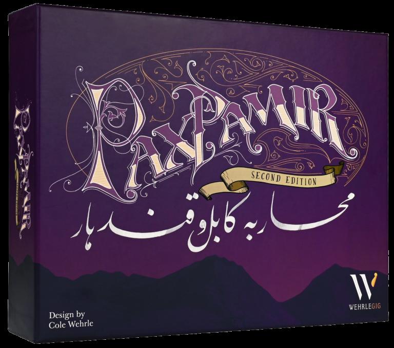 Jeudice - Pixie Games - (Express) 👉  Pax Pamir 2 édition