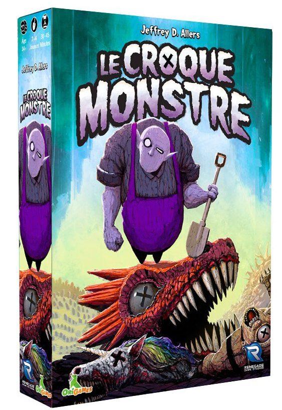 Jeudice - Renegade - Origames - (Express) 👉 Le Croque Monstre