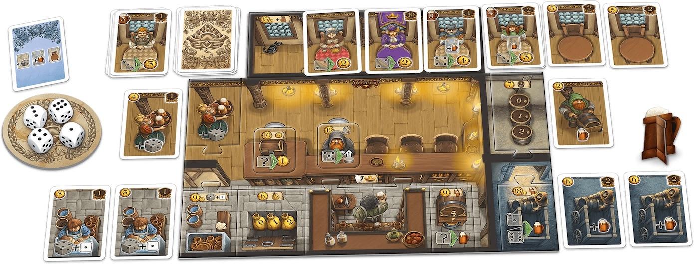 Jeudice - Schmidt - Pixie Games - (Express) 👉  Les Tavernes de la Vallée Profonde