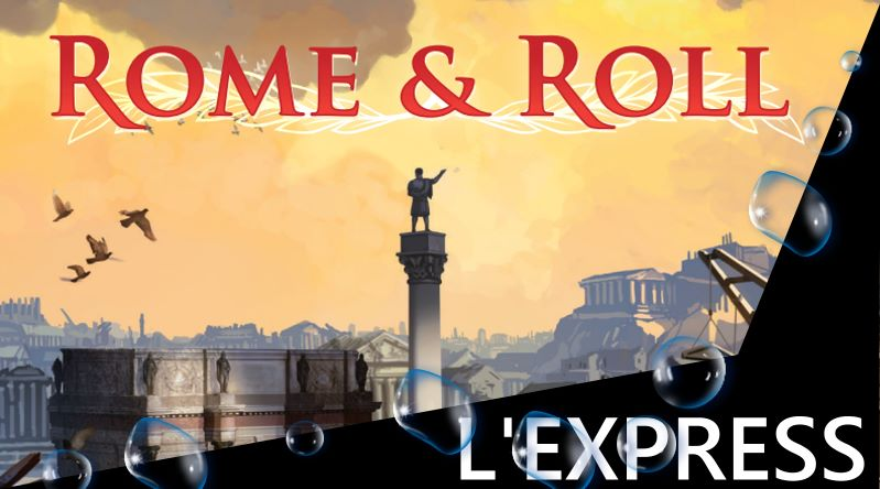Jeudice - Super Meeple - Rome & Roll - Express