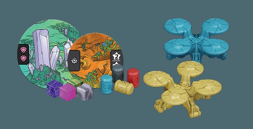 Jeudice - Zman Games - Cryo - Jeu Sociéte - Plateau