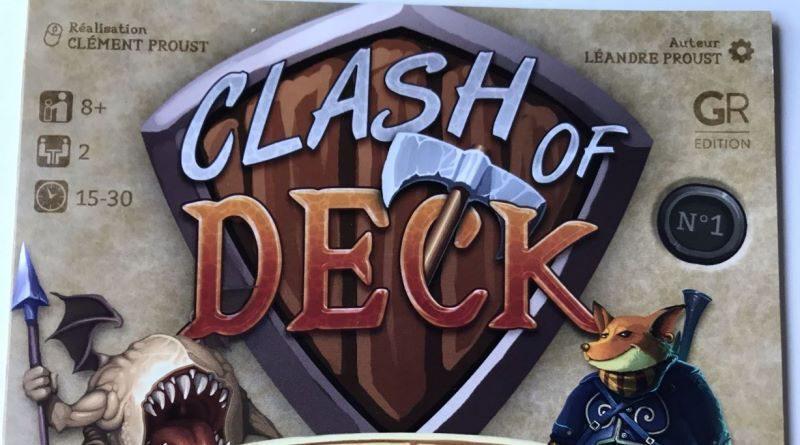 Jeudice - Grammes Edition - Clash Of Deck - Jeu de cartes à découper