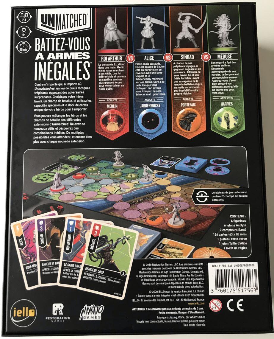 Jeudice - Iello - Mondo Games - Unmatched