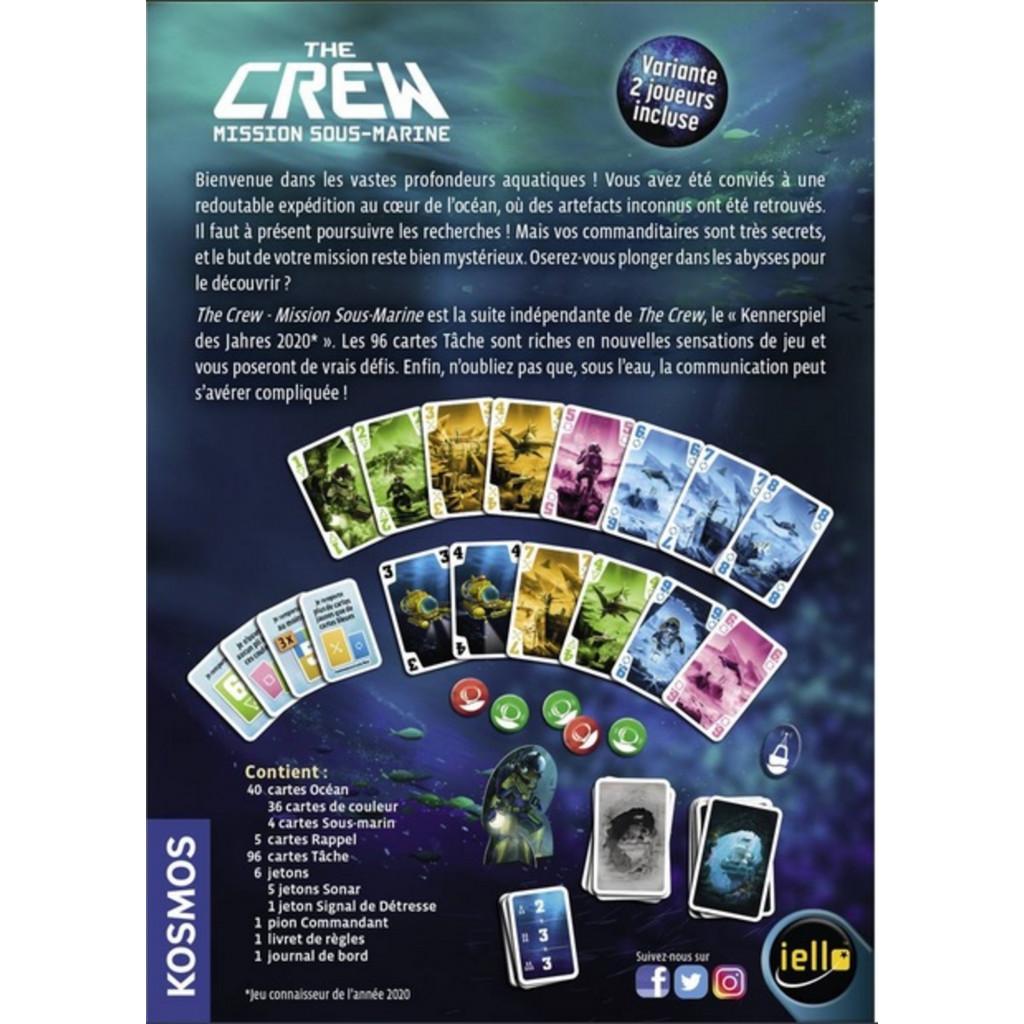 Jeudice - Kosmos - Iello - The Crew - Mission sous marine