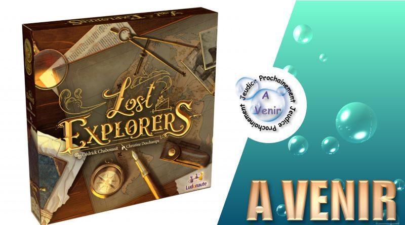 Jeudice - Ludonaute - Lost Explorers