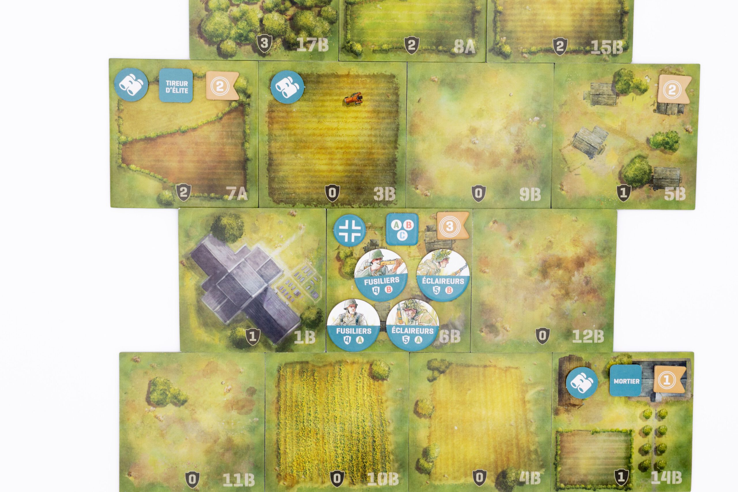 Jeudice - Osprey Games - Nuts Publishing - Inflexibles Normandie