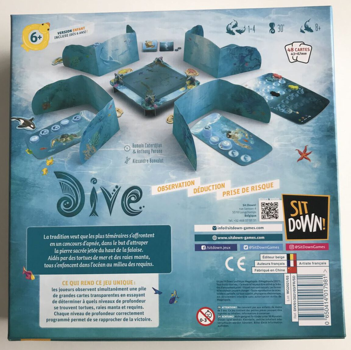 Jeudice - Sit Down - Atalia - Dive