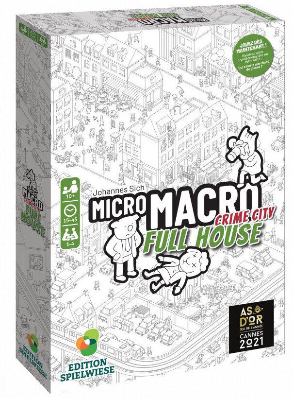 Jeudice - Blackrock Games - Spielwiese -  MicroMacro Crime City Full House