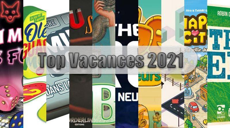 Jeudice - Top 10 Vacances 2021