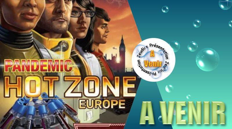 Jeudice - Zman Games - Pandemic Zone Rouge Europe