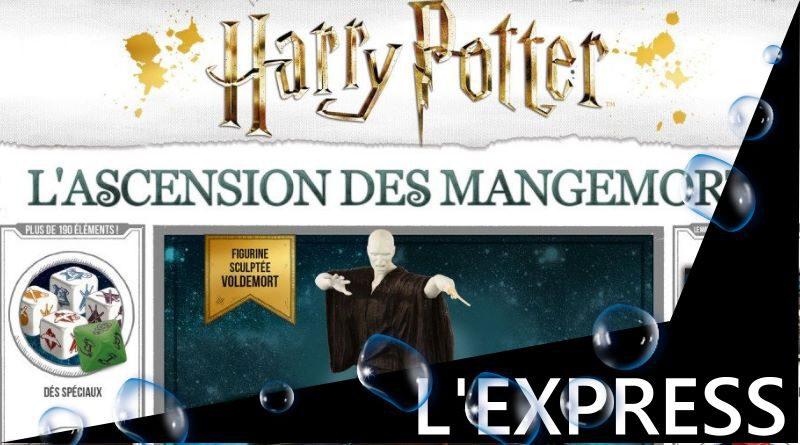 Jeudice - Lucky Duck Games - (Express) 👉 Harry Potter l'Ascension des Mangemorts